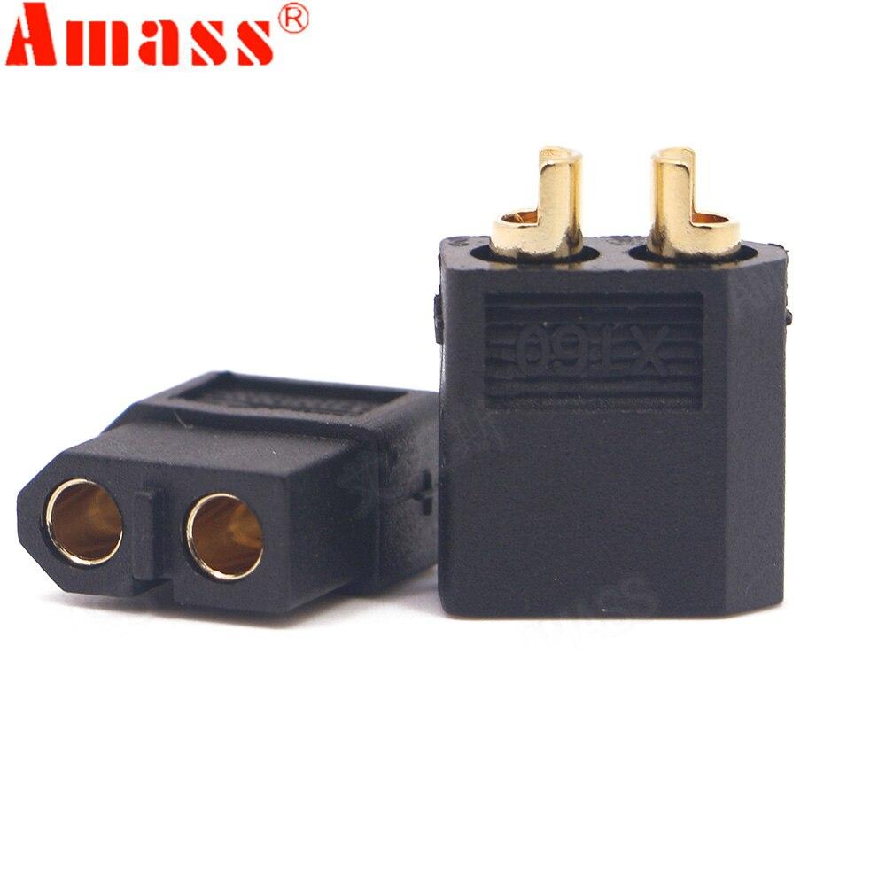 10pcs/lot Amass XT60 XT-60  Male Female Bullet Connectors Plugs For RC Lipo Battery Quadcopter Multicopter ( 5 Pair )