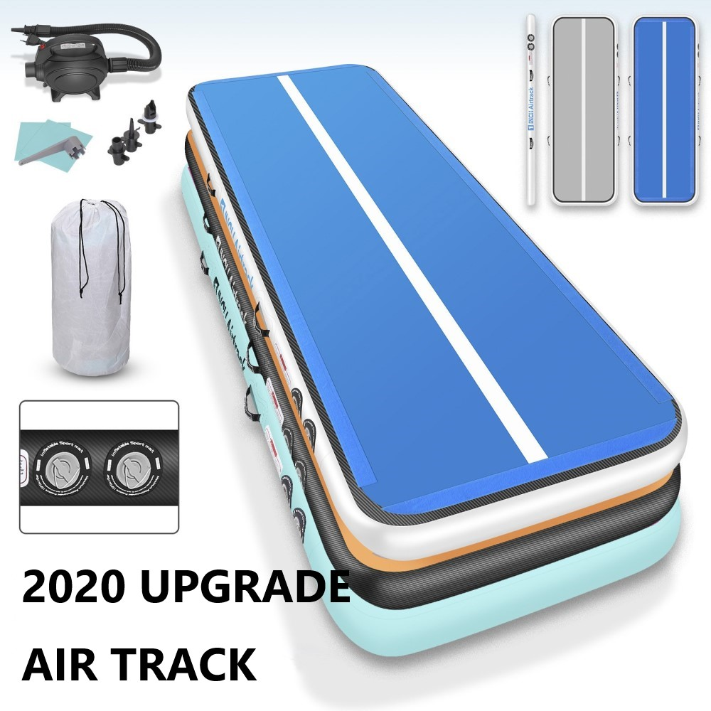 7 DAYS FAST DELIVERY 5M 4M 3M Inflatable Airtrack Gymnastics Air Track Water Park Sports Mattress Gym Mat Trampoline Air Track