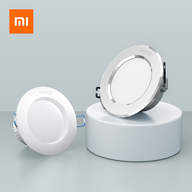 Xiaomi OPPLE LED Downlight 3W 120 Degree Round Recessed Lamp Warm/Cool White Led Bulb Bedroom Kitchen Indoor LED Spot Lighting