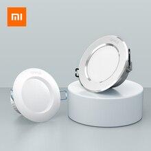 Xiaomi opple ledダウンライト3ワット120度ラウンド凹型ランプウォーム/クールホワイトled電球の寝室キッチン屋内ledスポット照明