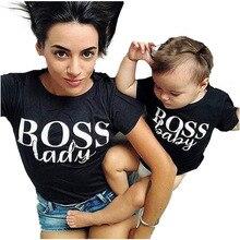 Family Look 1PCS Summer Matching Clothes Tshirt Women Son Daughter Mum T-Shirt Tops Baby Girl Boys Casual T Shirt Outfits