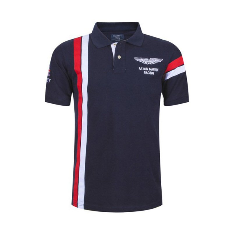 Size 6X Air Force No. 1 High Quality Embroidery Men's Polo Shirt Summer Homme Brand Red Navy Polo Shirts;YA238