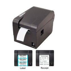 Wysokiej jakości drukarka kodów kreskowych urządzenie do drukowania naklejek 58mm drukarka paragonowa drukarka pos kod Qr nieschnąca drukarka etykiet w Drukarki od Komputer i biuro na