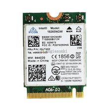 Intel wireless-ac 18260ac fru 00jt492 m.2 banda dupla 802.11ac 867mbps wifi + bt cartão para lenovo x260 t460s t460p yoga 260