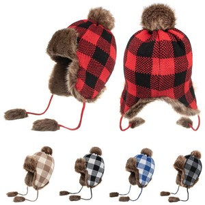 Outdoor Winter Windproof Hat Neutral Cat Dog Warm Ear Protection Hats Autumn knitted Woolen Hat Protector Warm Cap D22