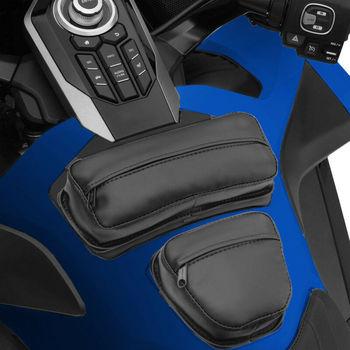 Pokrowiec na zbiornik motocyklowy Tasche do Honda Goldwing złote skrzydło GL1800 GL 1800 2018-2020 2019 tanie i dobre opinie For Honda GL1800 2018-2020 Skóra i torby siodle TCMT 0inch CN (pochodzenie) as show XF-GL1951-B XF-GL1952-B