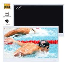 Souria 22 дюймов Белый Отделка Ванная комната люкс Smart LED TV внутренний держатель для воды доказательство телевидения Кухня прибор YouTube