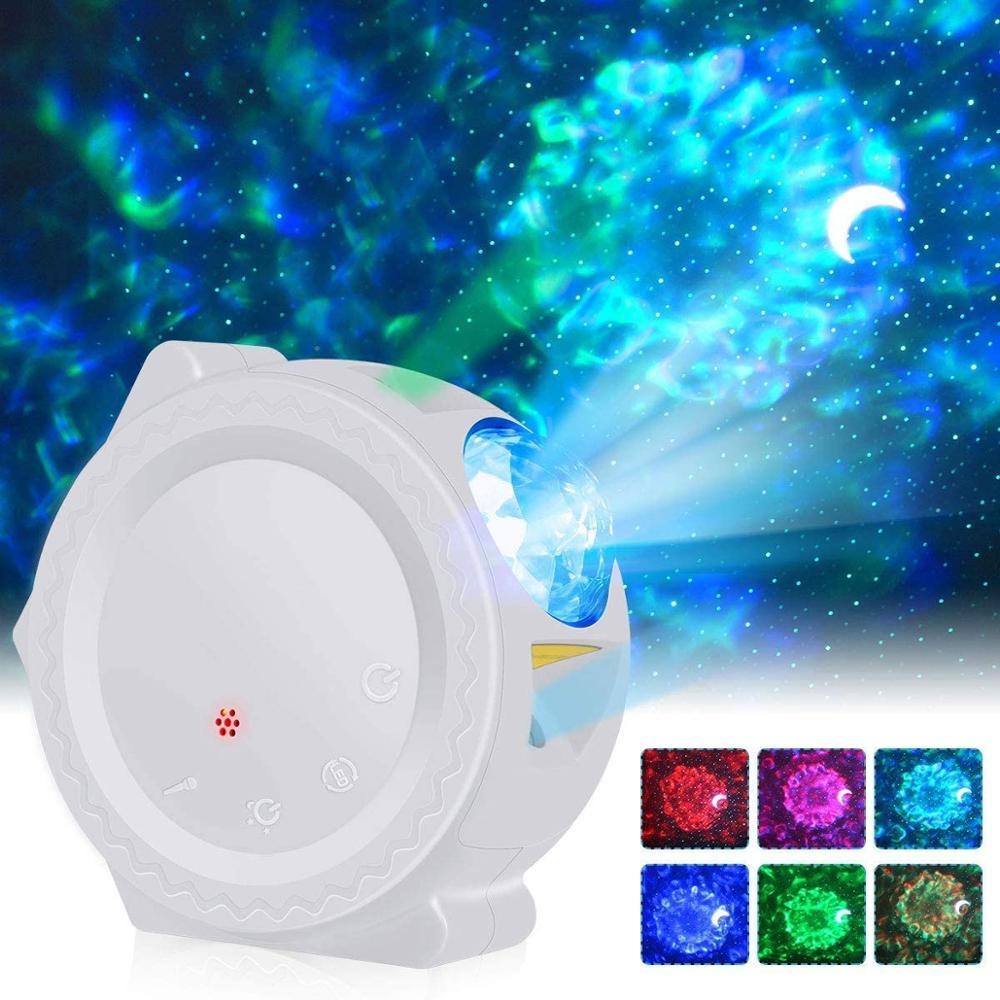 Star Ocean Wave Sky Projector Starry Sky Night Light Water Wave Night Lamp Sky Laser Galaxy Projector