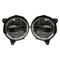 Round Motor cycle Light led Headlight rhd Headlamp for Jeep for Off Road