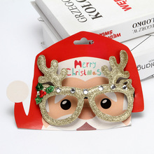 Christmas decorations glasses adult children frame party annual meeting jewelry new year headdress