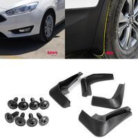 SJ Custom Fit 4pcs/Set Car Front Rear Mudflaps Mudguards Fender Flares Splash Guards Mud Flaps For Jaguar XF 2012 2013 2014 2015