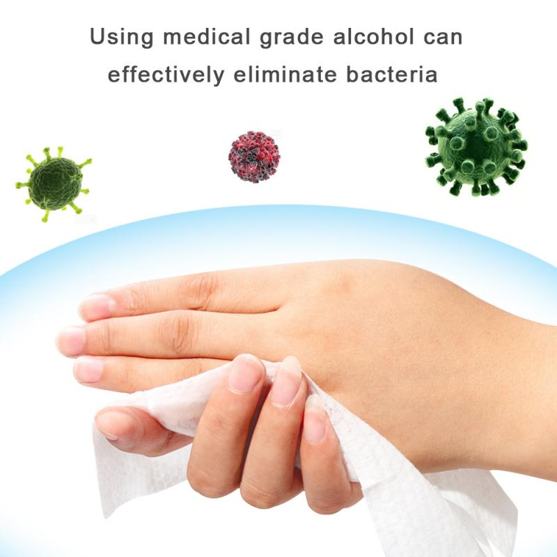 10pcs/pack Alcohol-free  Wipes Disposable Disinfection Prep Swap Pad Antiseptic Skin Cleaning Care Clean And Disinfect