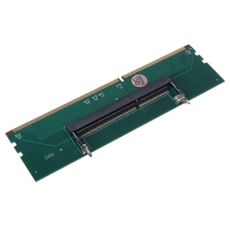 DDR3 SO DIMM A Adaptador de conector DIMM tarjeta de adaptador de memoria 240 a 204P accesorios de componentes de ordenador de escritorio Kembona original chips marca PC de escritorio DDR2 1 GB/2 GB/4 GB 800 MHz/667 MHz/533 MHz DDR 2 DIMM-240-Pins escritorio memoria Ram