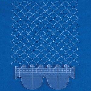 Image 4 - Người cai trị mới tiêu bản mẫu bộ trong nước máy 1 bộ = 6 # RL 06