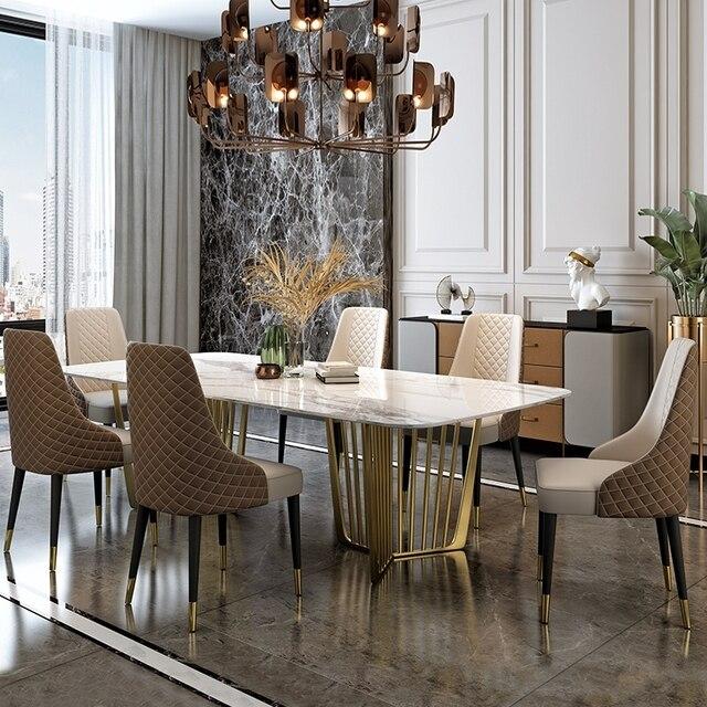 Luxury Marble Dining Set 2