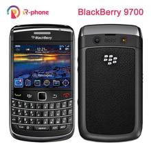 オリジナルブラックベリーボールド 9700 ロック解除携帯電話 5MP 3 グラム wifi gps bluetooth の qwerty キーパッド改装電話