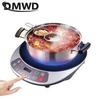 DWMD Multifunction electric induction cooker Hot pot heating plate milk boiler food steamer stove noodles stir fry smart cooktop