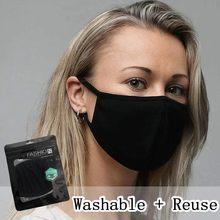 Mascarilla reutilizable de algodón lavable, máscara moderna, 1 unidad