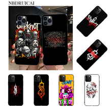 NBDRUICAI Slipknot Rock Coque funda del teléfono carcasa para iPhone 11 pro XS MAX 8 7 6 6S Plus X 5S SE XR caso(China)