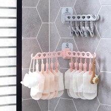 Вешалка для полотенец, органайзер, многопортовая поддержка, Детские сушильные решетки для одежды, пластиковый шарф, вешалка для хранения, вешалки для ванной комнаты