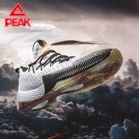 PEAK Men Lou Williams Lightning 2019 Basketball Shoes Basketball Sneakers Cushioning Sports Shoes Athletic Designer Footwear