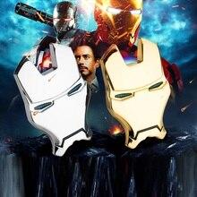 3D Chrome โลหะปรับแต่งรถ universal Iron Man รถสติกเกอร์ตกแต่ง Avengers รถจัดแต่งทรงผม Decals อุปกรณ์เสริมภายนอก