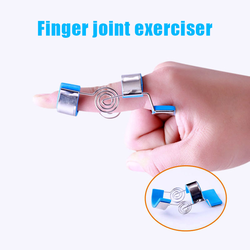 Newly Finger Joint Actuator Exerciser Training Joint Straight Curved Insufficient Hemiplegia Massage