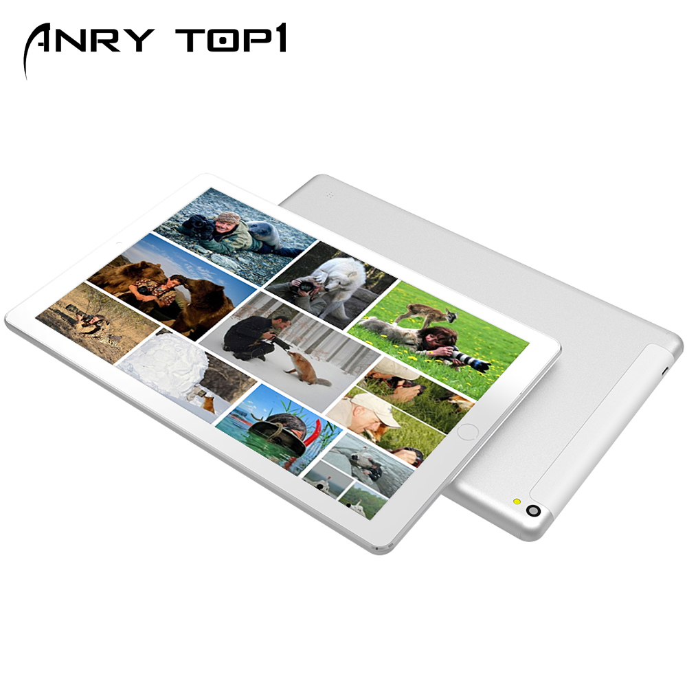 10.1 Inch 8 Core 4G+64G Android Tablet PC SIM Dual Camera WiFi 4G Phone Call Tablet Dual Sim Card Dual Cameral Touch Screen Tab