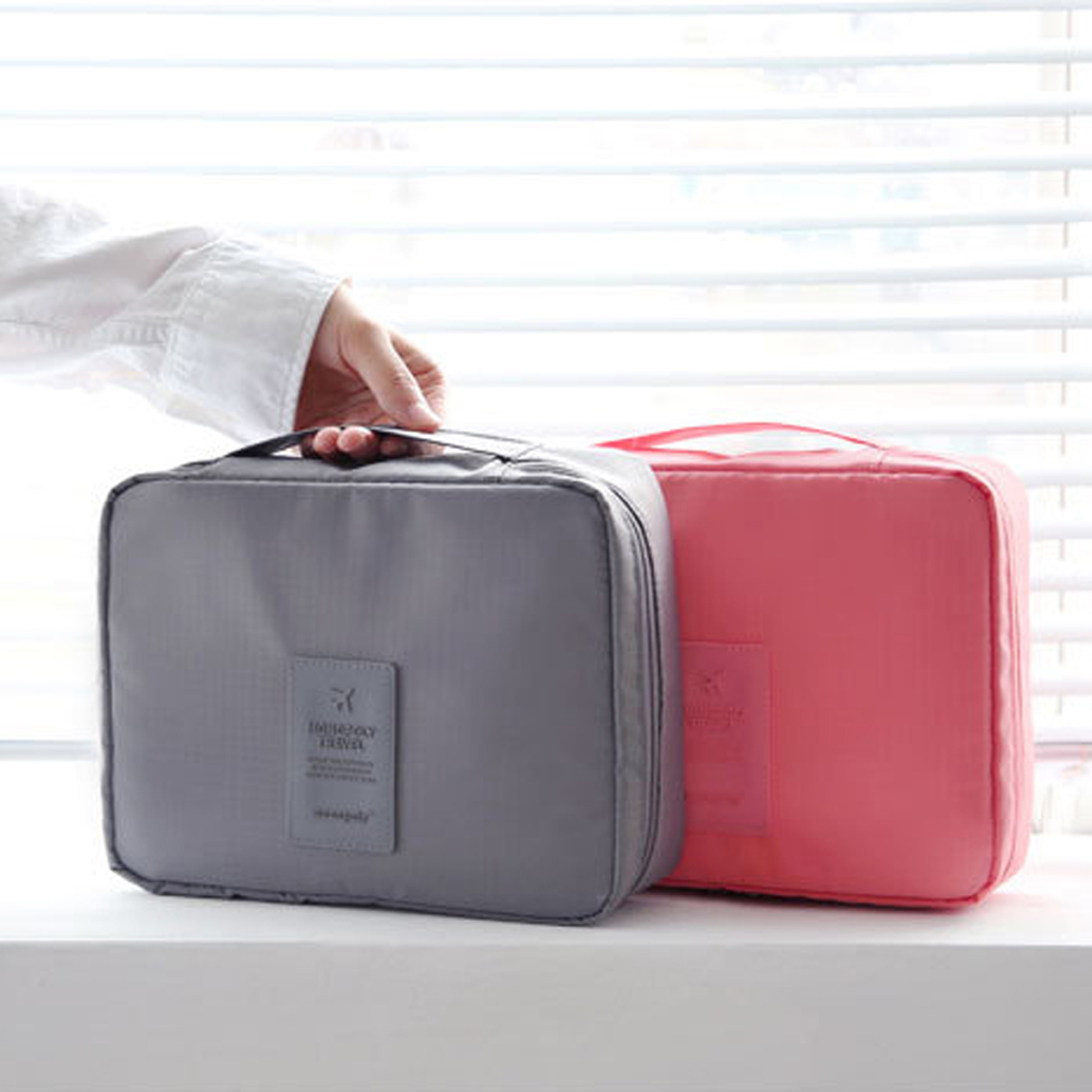 Travel Cosmetic Makeup Toiletry Case Wash Organizer Bag Clothes Pouch Portable Storage Case Luggage Suitcase