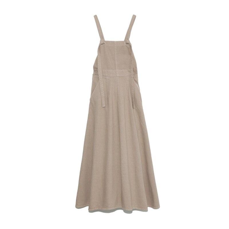 Kuzuwata High Waist Hip A Line Camis Dress Women Sexy Sleeveless Shoulder Strapless Denim Vestidos Summer 2021 New Slim Robe 9