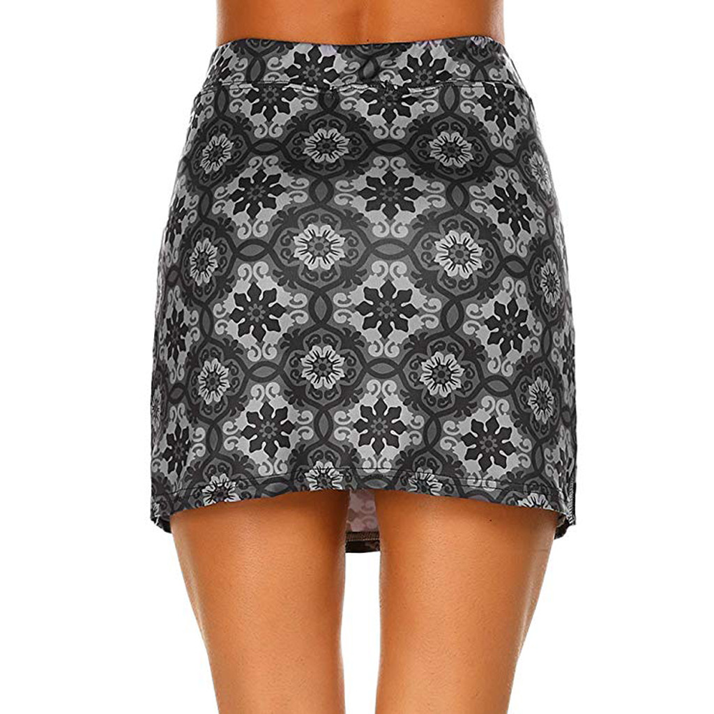 Pleated Tennis Golf Skirt Built-in Shorts Workout Clothes