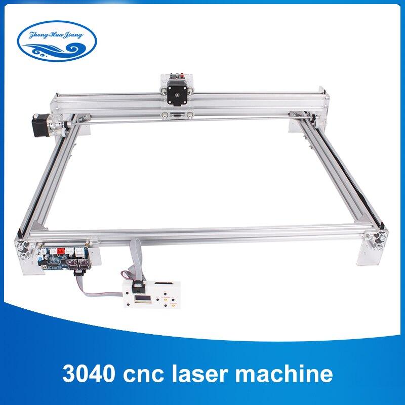 30*40cm 10w cnc laser Gravur Maschine 2 Achse DC 12V DIY Home Kupferstecher Desktop Holz router/Cutter/Drucker Maschine mit Offline