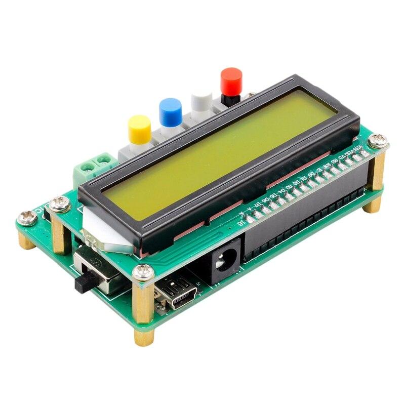 Medidor de Capacitor Lcd de Alta Lc100-a + Digital Precisão Indutância Capacitância l – c Testador Freqüência 1pf-100mf 1uh-100h + Top Lc100-a