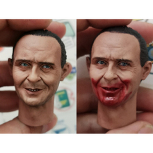 1/6 Hannibal Anthony Hopkins Blooding Head Sculpt for 12'' Figure Bodies Toys Gifts