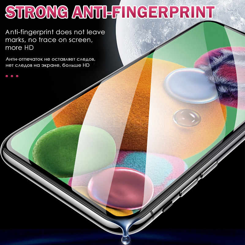 2 In 1 Hydrogel Film Voor Samsung Galaxy A51 A71 A50 A70 Screen Protector Op Sm A40 A80 A10 A20e a30S M11 Camera Lens Film Glas