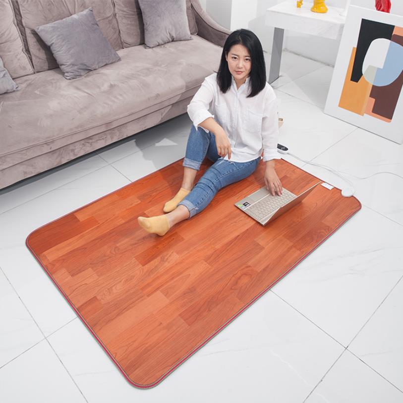 Mehrere größen Elektrische Heizung Pad 220V Thermische Fuß Füße Wärmer Beheizten Boden Teppich Matte Pad Home Office Warme Füße
