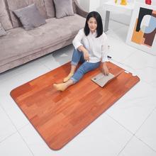 Wiele rozmiarów elektryczna mata grzewcza 220V termiczna stopa stopy cieplej podgrzewany dywan na podłogę mata Pad Home Office ciepłe stopy