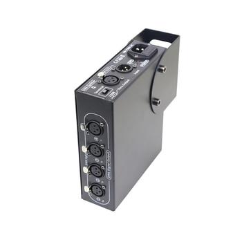 4way DMX Splitter DMX512 Splitter Light Signal Amplifier Splitter 4 way DMX Distributor For Stage Equipment Light Control