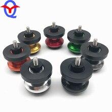 1 conjunto de bobinas para braço oscilante, deslizadores para yamaha yzf750 yzf1000 fzr400 600 750t 1000, 1 conjunto