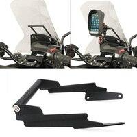Aluminum Upper Fairing Stay Bracket GPS Mounting Bracket Holder Center Stand for Honda NC750X 2016 2019 Motorcycles 2017 2018