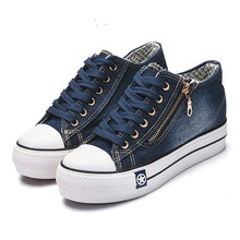 Canvas shoes for girls 2020 Spring Fashion Sneakers Solid Se