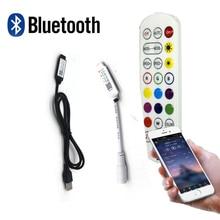 Remote-Controller Strip-Lights Bluetooth for 2835 5050/Rgb/Led Music APP Usb/dc/5-24v
