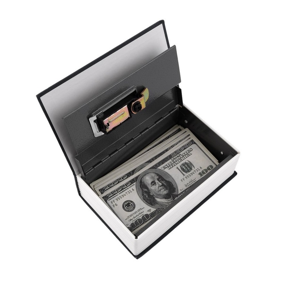 Dictionary Safe Box Popular Secret Book Money Hidden Secret Security Safe Lock Cash Money Coin Storage Jewellery Password Locker