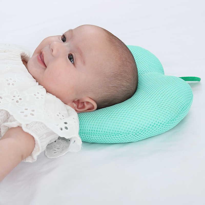 Bebé recién nacido frutas lindo patrón almohada apoyo infantil almohadilla de cojín previene la cabeza plana forma almohada correcta postura de dormir