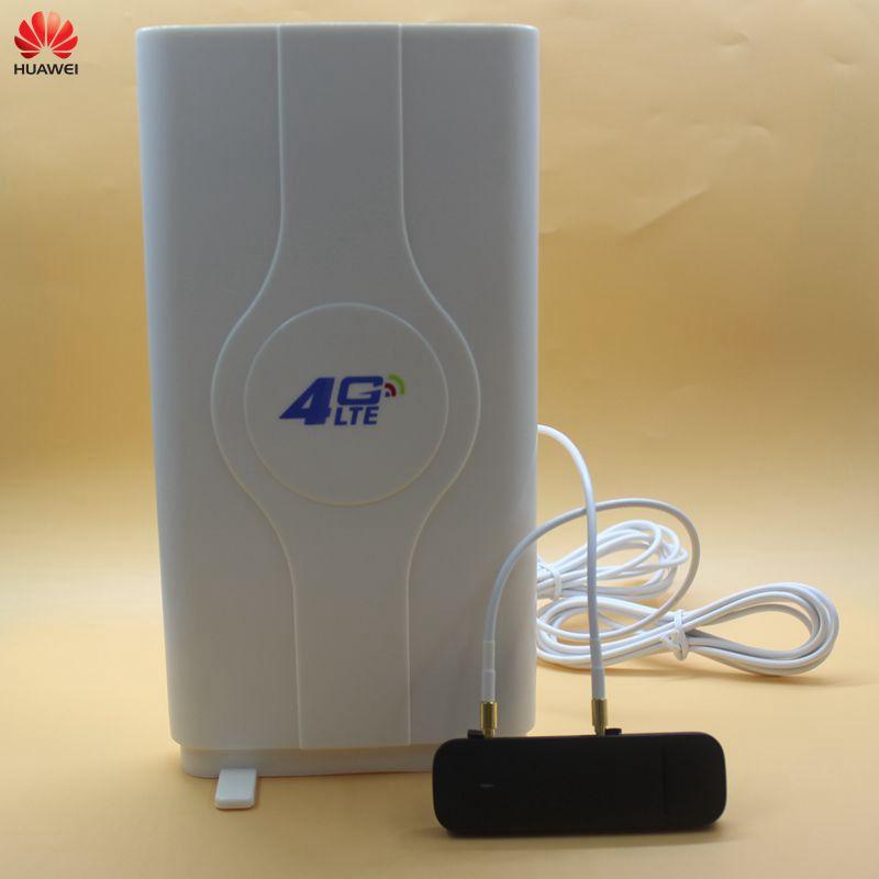 Desbloqueado huawei 4g modem e3372 E3372h-607 com o cartão do sim do modem 4g da antena 4g usb modem 4g lte usb dongle vara datacard pk k5150