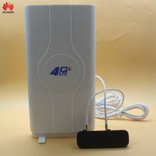 цена на Unlocked Huawei 4G Modem E3372 E3372h-607 with Antenna Modem 4G Sim Card 4G USB Modem 4G LTE USB Dongle Stick Datacard PK K5150