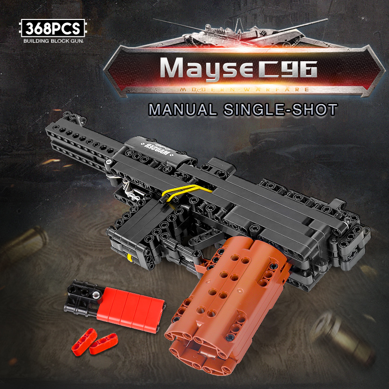 MOULD KING 14011 The Mausers C96 Pistol Model