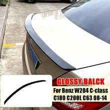 Rear Wing Spoiler For Benz W204 C-class C180 C200L C63 2008 2009 2010 2011 2012 2013 2014 Rear Window Roof Spoiler