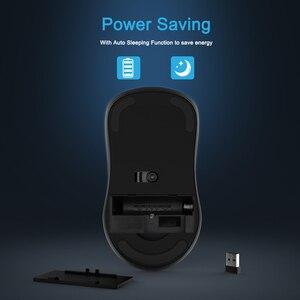 Image 5 - SeenDa, botones silenciosos, ratón inalámbrico de 2,4G para ordenador portátil, ratón de viaje portátil, Mini ratón Ultra delgado para ordenador portátil, PC de escritorio