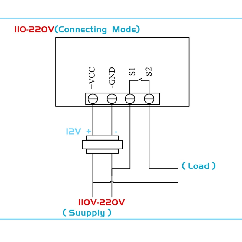 W3230 DC 12V 20A цифровой регулятор температуры 50 120 °C термостат регулятор Y5LF|Запчасти для электроводонагревателей|   | АлиЭкспресс